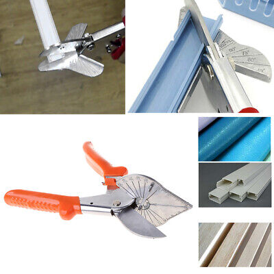 £11.62 • Buy 45-120° Multi Angle Pipe Scissor Wire Trunking PVC Mitre Trim Cutter Hand Tool