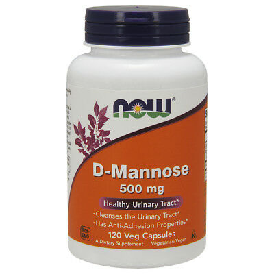AU27.07 • Buy Now Foods D-MANNOSE 500mg - 120 Capsules - URINARY & BLADDER HEALTH