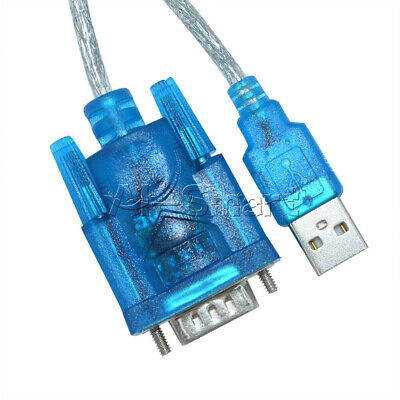 AU2.19 • Buy USB To RS232 Serial Port 9 Pin DB9 Cable Serial COM Port Adapter Blue Convertor