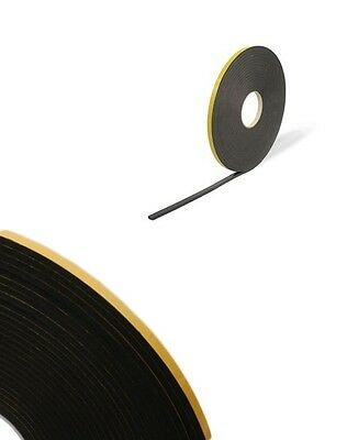Double Sided Foam Tape - 4mm X 15m Black - Glazing Tape - Mounting / Craft Tape  • 8.75£