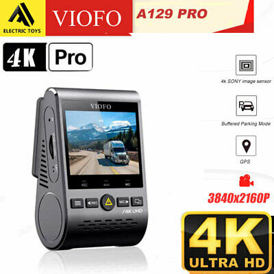 AU289 • Buy VIOFO A129 Pro Ultra 4K Dashcam Dual Channel, WI-FI & Bluetooth Dash Camera