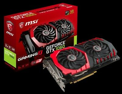 $ CDN534.60 • Buy NVidia MSI Geforce GTX 1060 Gaming X 6GB