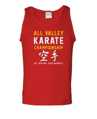 $12.99 • Buy ALL VALLEY Karate Championship - 80'S - Mens Tank Top