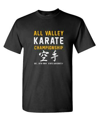 $15.99 • Buy ALL VALLEY KARATE CHAMPIONSHIP - 80's - Mens Cotton T-Shirt