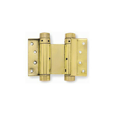 Double Action Spring Hinge - Various Finishes - HB3005-3PB • 17.95£