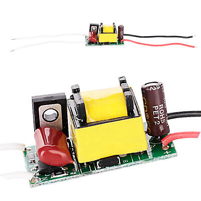 $ CDN1.38 • Buy Dimmable LED Chip Driver 3W 4W 5W 7W Power Supply 300 MA For LED Lights 110V 12V