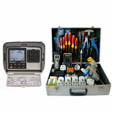 £792.99 • Buy Megger PAT150R Hand Held Mains Powered Portable Appliance PAT Tester With PPK202