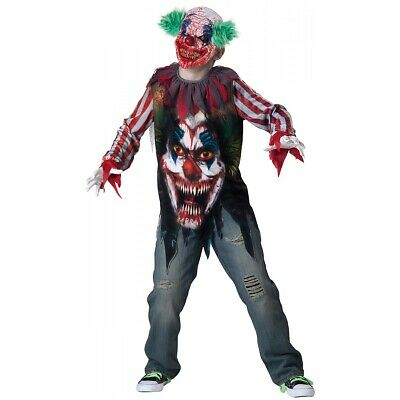 Halloween Costumes For Kids Scary.Kids Clown Halloween Costumes