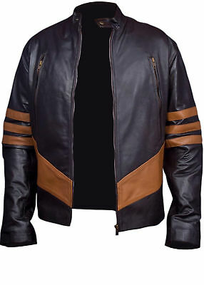 X-Men Wolverine Logans XO Real / Synthetic Leather Jacket • 89.99£