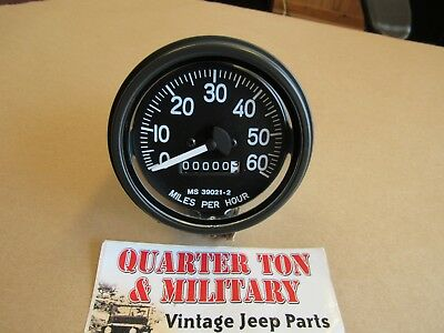 $60 • Buy Willys Jeep M38 M38A1 M170 M151 Correct M-series Military Speedometer