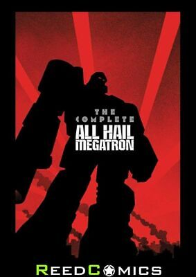 £39.99 • Buy TRANSFORMERS COMPLETE ALL HAIL MEGATRON GRAPHIC NOVEL (500 Pages) New Paperback