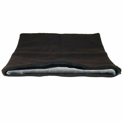 $11.99 • Buy Large Brown Self Warming Thermal Pet Dog Crate Pad - 36 X 24 Washable