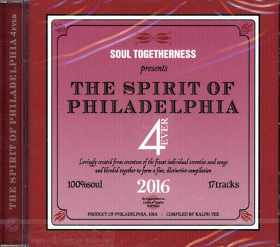 Soul Togetherness Presents  The Spirit Of Philadelphia 4 Ever - 2016   Cd • 10.99£