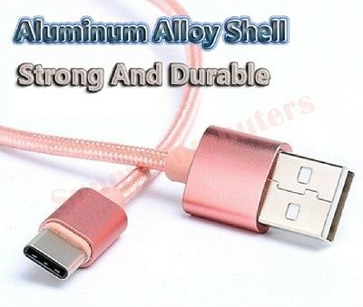 AU8.27 • Buy Braided USB-C Data Sync Power Charger Adapter Cable For Sony Xperia XZ2 Premium