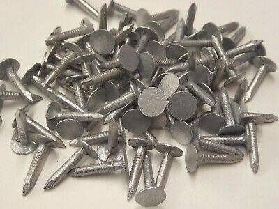 CLOUT / FELT / ROOF NAILS - GALVANISED EXTRA LARGE HEAD  - 13mm & 20mm & 25mm • 3.19£