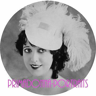 $13.49 • Buy MABEL NORMAND 10X10 Photo 1910s DELICATE BEAUTY GLAMOUR CIRCULAR PORTRAIT