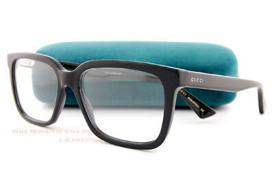 029308cf95c7 Brand New GUCCI Eyeglass Frames GG 0160 O 005 Black For Men Women • 199.99