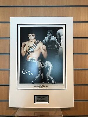 £34.99 • Buy Charlie Magri Signed And Double Mounted, Photo Evidence AFTAL Dealer No:21