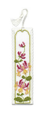 £6.89 • Buy Honeysuckle Bookmark Cross Stitch Kit By Textile Heritage