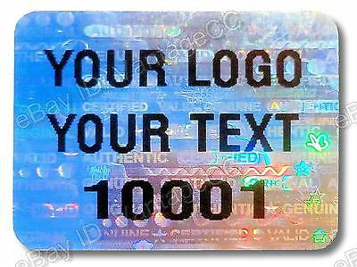 £25.95 • Buy Large CUSTOM-PRINTED Security Hologram Stickers, 25mm X 20mm, Warranty Labels