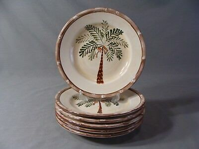 $36 • Buy 6 Home Trends Salad Plates In The West Palm Pattern