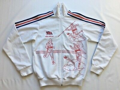 $ CDN69 • Buy Rare Adidas Originals Team GB Great Britain Daley Thompson Track Jacket Size S
