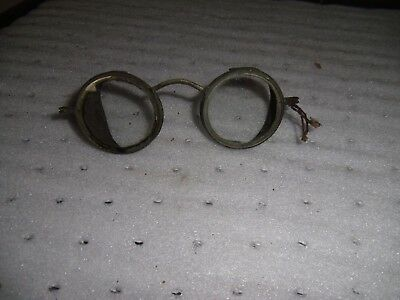 $19.99 • Buy Antique Willson Safety Eye Glasses Vintage Goggles Steampunk