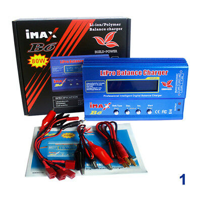 AU23.74 • Buy IMax B6AC 80W RC Lipo Lithium NiMh Digital Battery Balance Charger Discharger