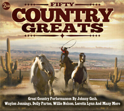 £2.15 • Buy Various Artists : Fifty Country Greats CD 3 Discs (2012) FREE Shipping, Save £s