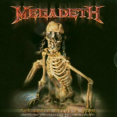 Megadeth : The World Needs A Hero CD Highly Rated EBay Seller Great Prices • 3£