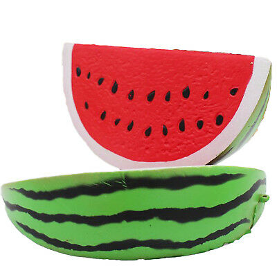 AU4.55 • Buy Jumbo Slow Rising Squishies Toys Scented Squeeze Watermelon Stress Relief Toy