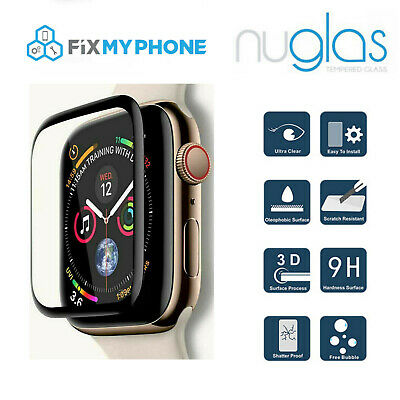 AU6.95 • Buy Nuglas Tempered Glass Screen Protector For Apple Watch IWatch 1 2 3 38mm  42mm