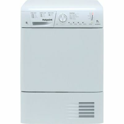 £270 • Buy Hotpoint TCHL870BP B Rated 8Kg Condenser Tumble Dryer White