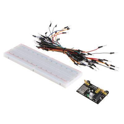 £7.29 • Buy Solderless Prototype PCB Breadboard With Power Supply Module And Jumper Wire