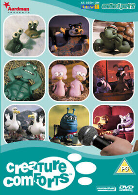 £1.70 • Buy Creature Comforts: 1.2 DVD (2004) Aardman Animation Cert PG Fast And FREE P & P