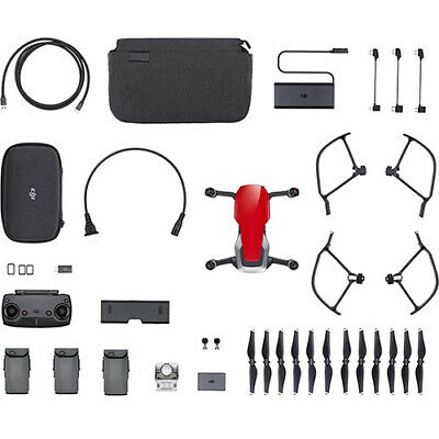 AU1447 • Buy DJI Mavic Air Fly More Combo Red