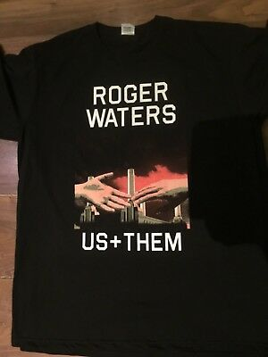 £8.56 • Buy Roger WATERS US AND THEM TOUR T SHIRT BACK AND FRINT PRINT CONCERT T SHIRT
