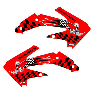 $50 • Buy  Honda CRF450x 2005-2017 Woody Shroud Graphics Red Highlight FREE SHIPPING!!!