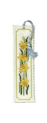 £6.64 • Buy Daffodil Bookmark Cross Stitch Kit By Textile Heritage
