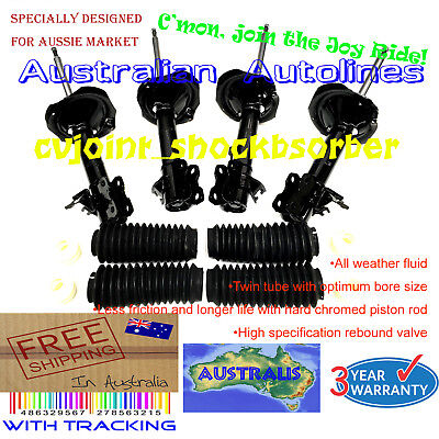 AU388 • Buy A Set Of Front And Rear Struts Nissan X-Trail Xtrail T30 Shock Absorbers 01-07