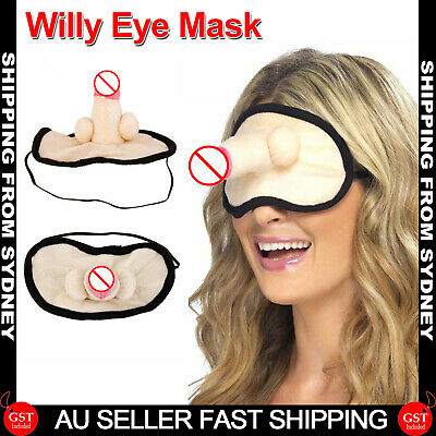 AU8.99 • Buy 1x Willy Eye Mask Penis Dick Dicky Hens Night Party Bachelorette Novelty Games F