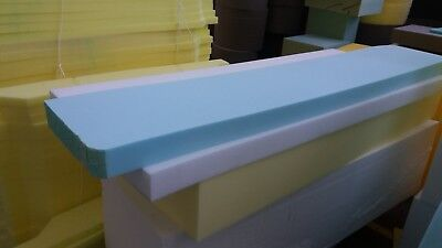 £0.99 • Buy Foam Upholstery Foam Sheets/pieces Cut To  50  X 20  X Any Thickness 1/2 - 5