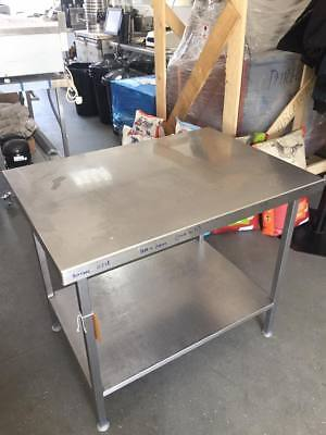Stainless Steel Table/work Bench With Under-shelve TOP QUALITY/HEAVY DUTY • 235£