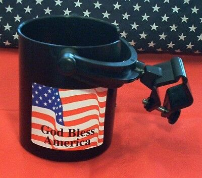 $19.95 • Buy Cooliecaddie No Spill 2 Way Swivel Motorcycle  Drink Cup Holder Honda Gift