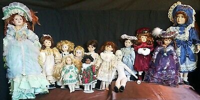 $ CDN94.67 • Buy Vintage Porcelain Doll Lot Of 13