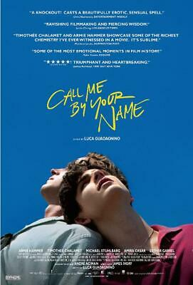 AU15.99 • Buy Call Me By Your Name Movie Poster 2017 Film 12x18  24x36  27x40  Silk Print