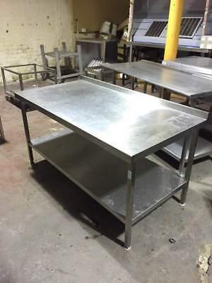 Stainless Steel Table/work Bench With Under-shelve Fully Welded (TOP QUALITY) • 375£