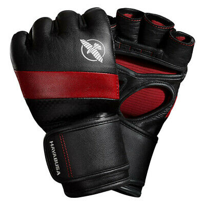 £54.99 • Buy Hayabusa T3 4oz Leather MMA Gloves Sparring Mixed Martial Arts Grappling