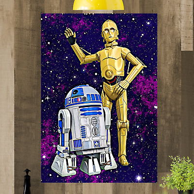 £15.98 • Buy Star Wars Framed Canvas Print Art Picture Ready To Hang