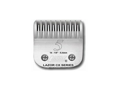 Laube CX Steel Dog Grooming Clipper Blade #5  Fits Standard Andis, Oster, Wahl • 41.99$